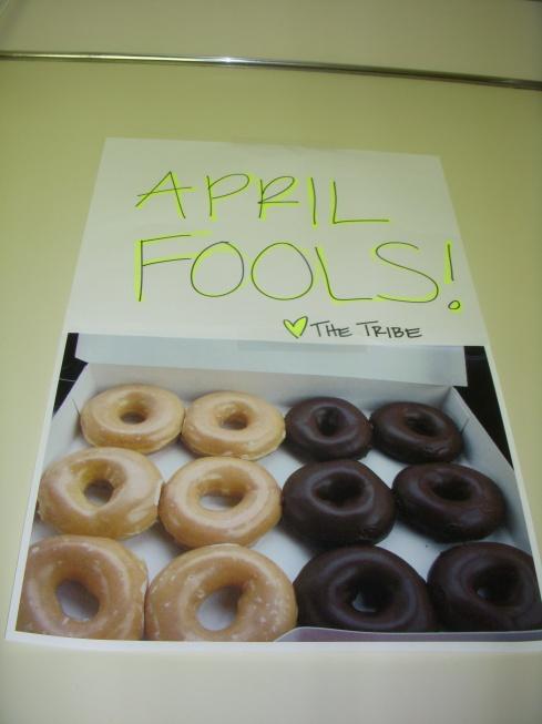 April Fools Donuts