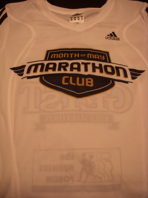 Month of May Marathon Club Shirt