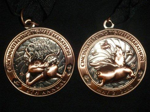 Flying Pig Medal