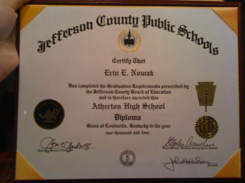H.S. Diploma